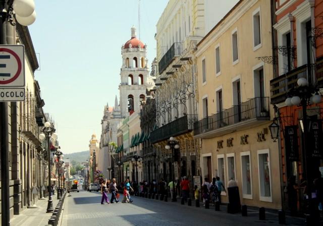 Антикварные улицы Пуэблы