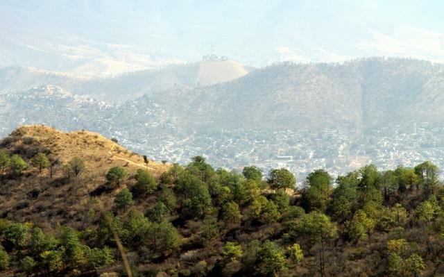 Оахака расположена на высоте 2000 м