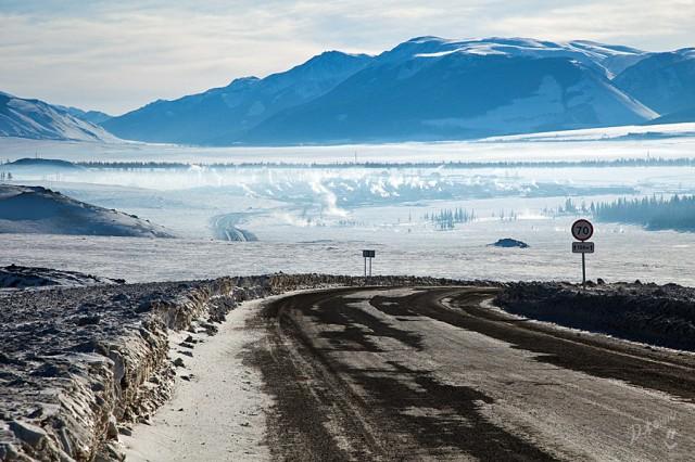 в далеке Кош-Агач, от него совсем недалеко до Монголии