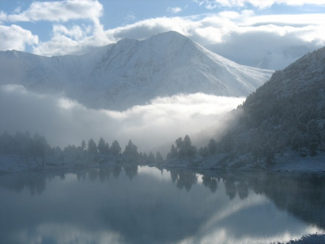 Озеро Дорашколь (под Белухой)