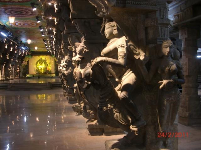 Мадураи, музей внутри храма 2