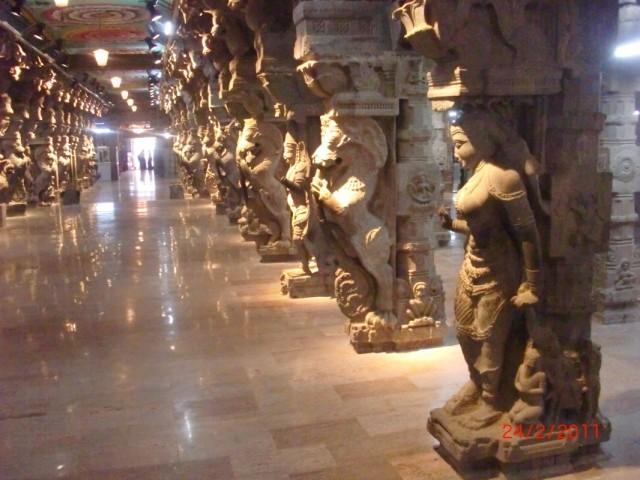 Мадураи, музей внутри храма 3