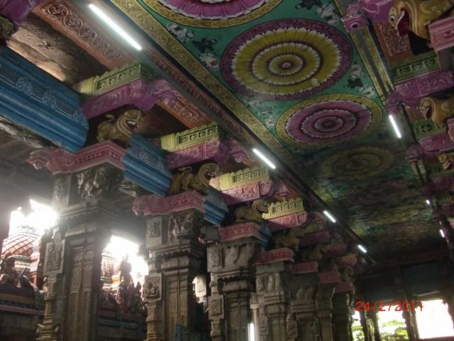 Мадураи, храм внутри 6
