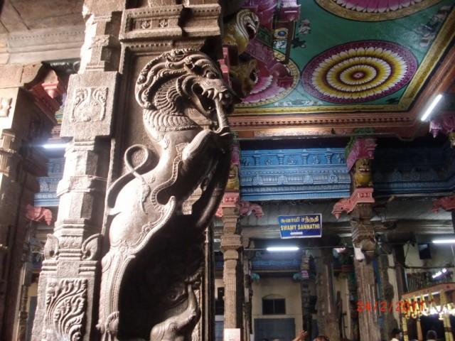 Мадураи, храм внутри 2