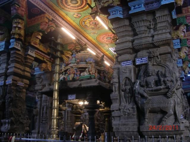 Мадураи, храм внутри 3