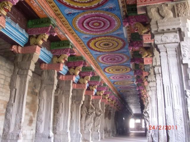 Мадураи, храм внутри 4