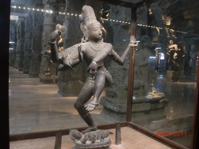 Мадураи, музей внутри храма
