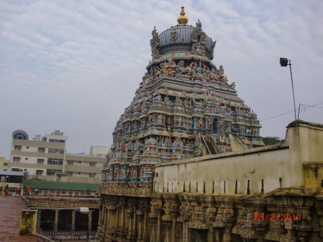 Трехуровневый храм Вишну