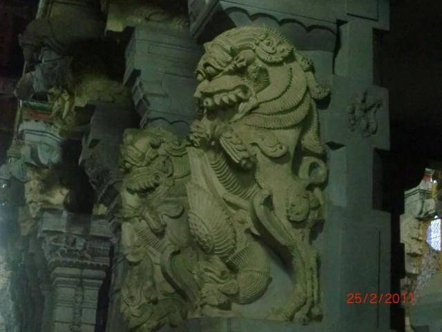 Рамешварам, в храме