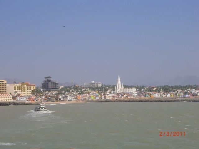 Вид на город от мемориала