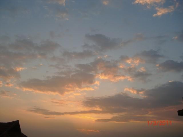 Солнце восходит
