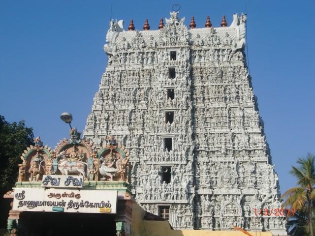 Сунчидрам. Очень красивый и интересный храм. Но внутри фотографировать запрещено, а очень жаль.
