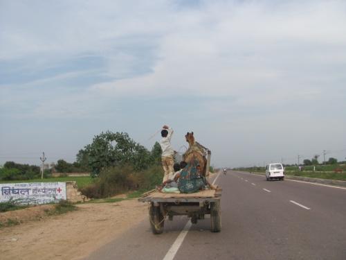На дорогах в Агру