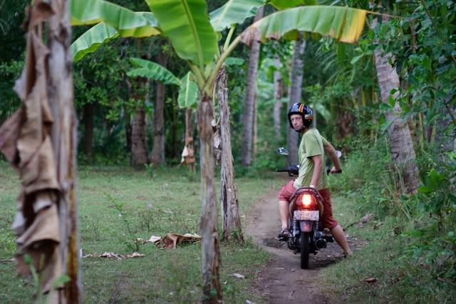 Первое знакомство с мотобайками на Бали