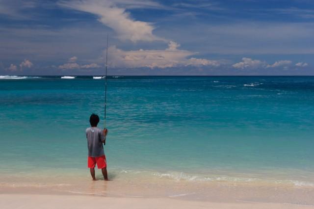 Пляж на Сумбаве