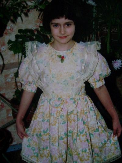 платье из Индии