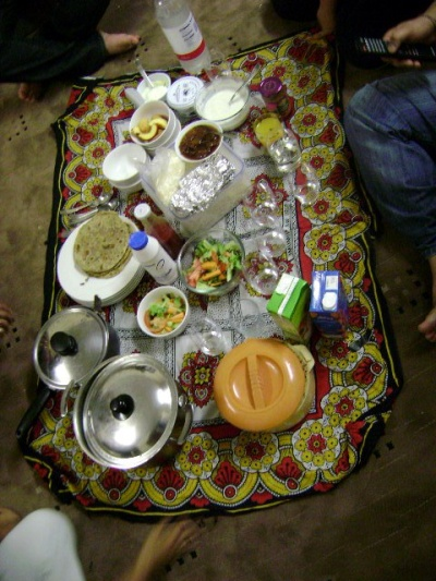 мой первый индийский ужин