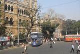 Mumbai. Вид из окна автобуса