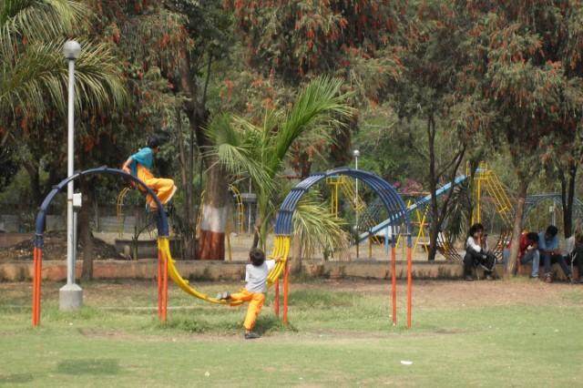 Аурангабад. Парк