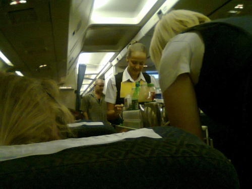 Услужливые стюардессы аэросвита!!