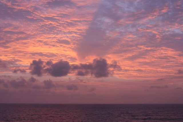 Первый закат
