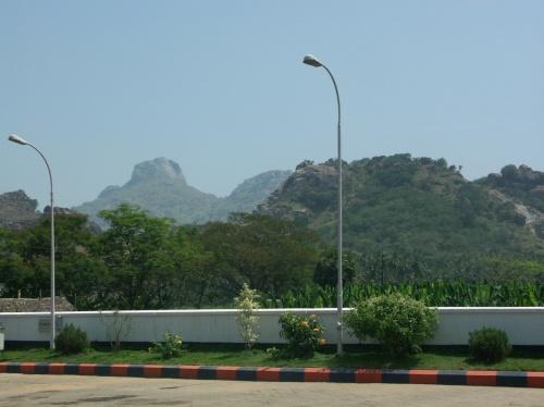 по дороге в Каньякумари