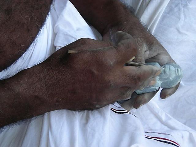 человеческими руками