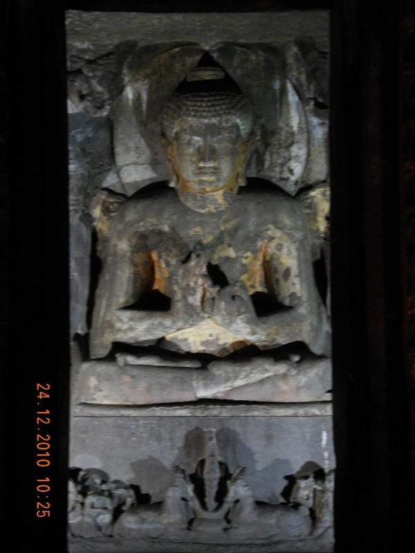 Большой Будда в Аджанте