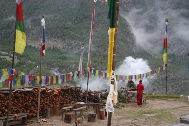 Утро в монастыре В.Писанга