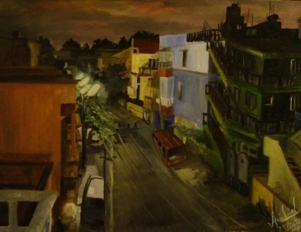 Бангалор с балкона