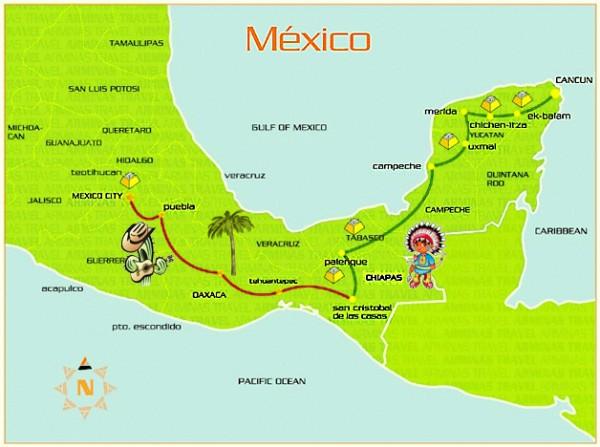 Бесконечный путь цивилизаций Мексики