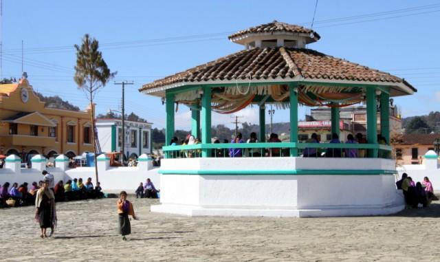 Афишная чамульская площадь
