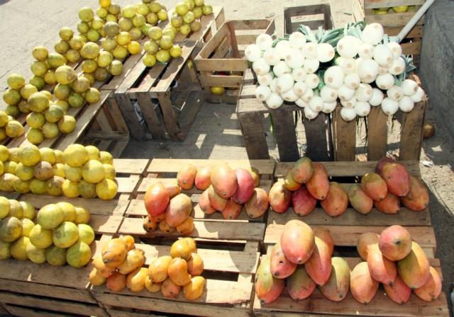 ... сладкие манго и горный лук