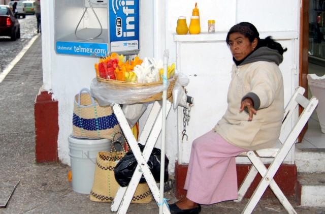 Мексиканский фруктовый сервис