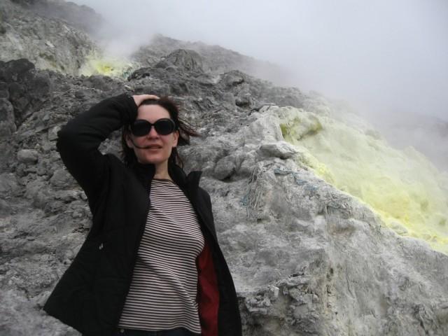 Наташа на вулкане