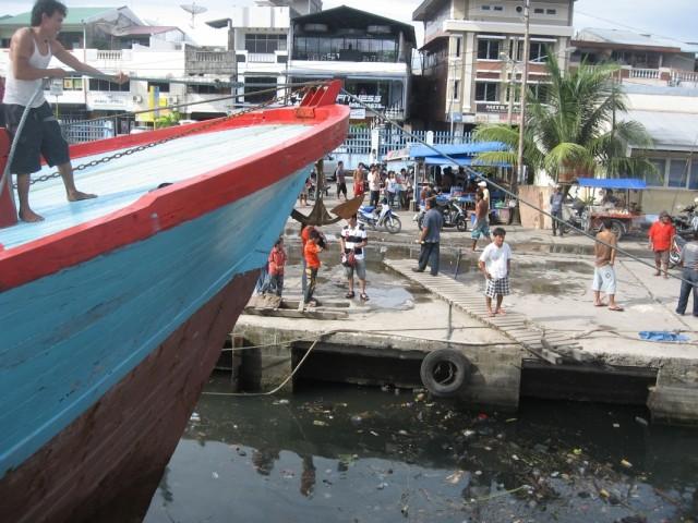 Пристань в Паданге
