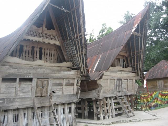 Дома  батаков