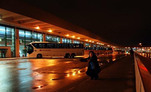 автовокзал Ашти (Анкара), часть одного из этажей :), перроны отправления