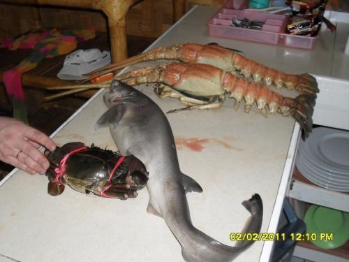 прдукция местного рыбколхоза