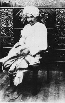 Махатма в 1918-м