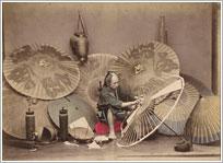 Мастер по изготовлению зонтов.
