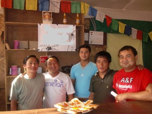 непальцы и красная икра