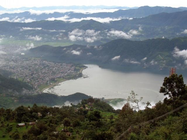 Покхара - озеро Фева