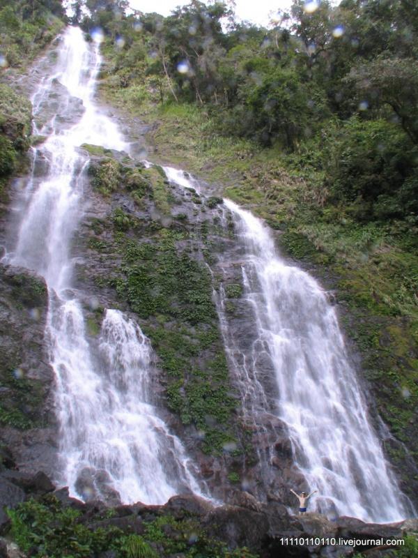 Водопад Ланганан 120м. - просто супер!