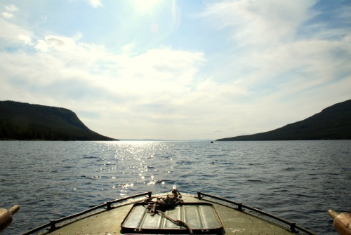 Впереди Белое море.