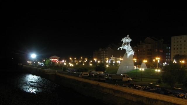 Набережная Терека в центре города
