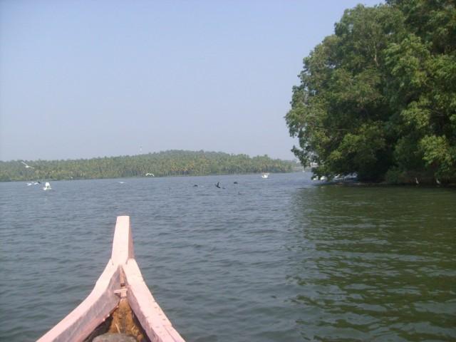 плывём на лодочке