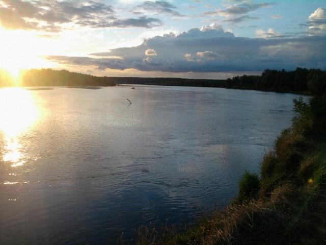река Десна, 70 км от Киева