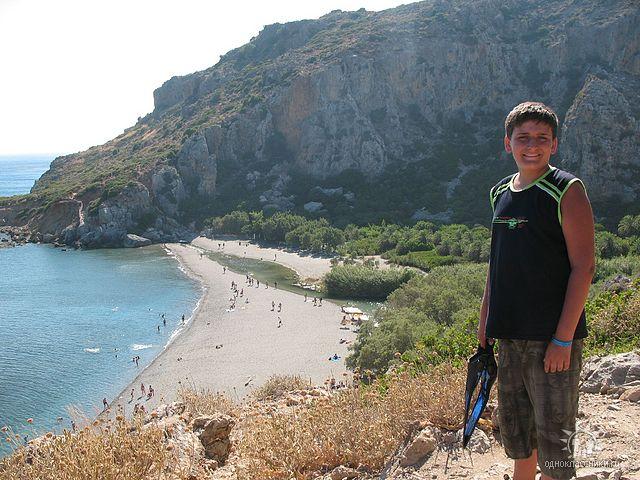 Крит, бухта Превелли