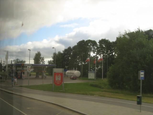 Въезд в Тарту